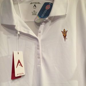 Arizona State Sun Devils College pique shirt NWT
